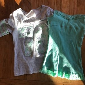 Justice top and cami